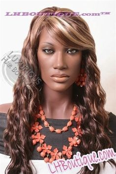 Long Beach Fashion Source Synthetic Wig, Fashion Source Wigs, Fashion Source Hair Wigs