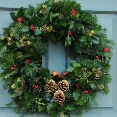 48 best xmas door wreath images christmas crafts, christmastraditional wreath christmas door wreaths, traditional, xmas, christmas, weihnachten, christmas movies
