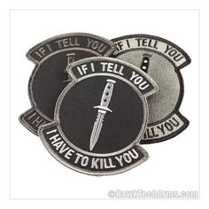 If I Tell You Morale Patch