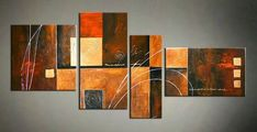 Abstract Modern Painting, Contemporary Wall Art Painting, Acrylic Painting Abstract, Living Room Wall Paintings