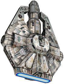 DePapercraftBlog: [star wars universe] YT-2000 light freighter