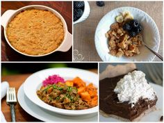 """Paleo AIP Recipe Roundtable #67! Featured Recipes: The Easiest Stew in the World ~ Salted """"Chocolate"""" Cream Pie ~ Cereal Flakes ~ and Chicken Pot Pie.."""