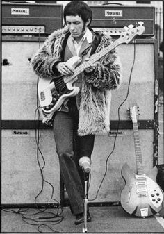 John Entwistle the quiet man but brilliant bass guitarist with The Who Rock Roll, Rock N Roll Music, Music Is Life, My Music, Blue Soul, John Entwistle, All About That Bass, New Wave, Music Pics