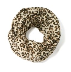 Leopard Infinity Scarf #gifts #chicos #HolidayFeeling