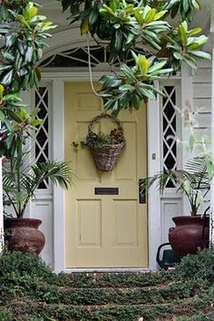 Southern Lagniappe: The Curb Appeal of Doors