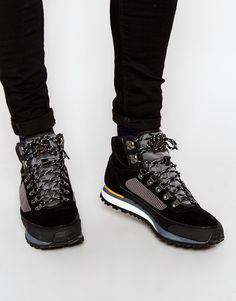 Fish+'N'+Chips+by+Base+London+Hiking+Boots