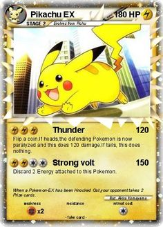 pokemon ex cards | Language Card : english