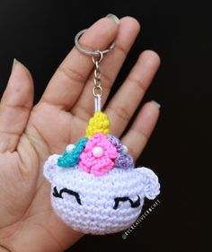 Crochet Keychain, Crochet Earrings, Hello Kitty Crochet, Crochet Accessories, Crochet Patterns, Christmas Ornaments, Holiday Decor, Handmade, Jewelry