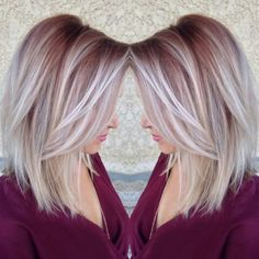 20 Fabulous Summer Hair Color Ideas – Amazing Hair Colours Straight Lob Hairstyle – Ombre, Balayage Hair Styles - Unique World Of Hairs Summer Hairstyles, Cool Hairstyles, Hairstyles 2016, Hairstyles 40 Year Old, Latest Hairstyles, Medium Blonde Hairstyles, Haircut Medium, Hairstyles Videos, Everyday Hairstyles