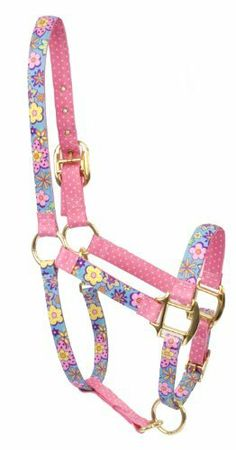 """Red Haute Horse FP1202 S High Fashion Horse Horse Halter, Flower Power by Red Haute Horse. $30.28. Stylish functional halter for your horse. Printed design on polyester braid. Made in the USA. 2 layers of accenting pattern. 100-percent vibrant color-fast polyester. High Fashion Horse """"Flower Power"""" Cobb / Small size halter. Make a statement with our """"High Fashion Horse"""" line of halters, featuring vibrant colorful designs printed on 100-percent polyester braid w..."""