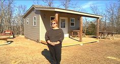 A Garfield woman is on a mission to end to veteran homelessness in Benton County. Sharon Whelchel is building transitional homes for veterans, from the ground up.
