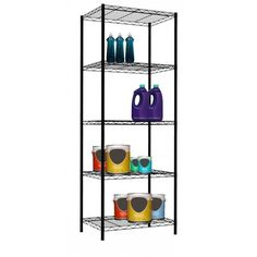 <UL>Put it in the garage, office, basement, anywhere you need more storage.  Perfect for people who like to be organized.  Easy to assemble, no tools required.</UL>
