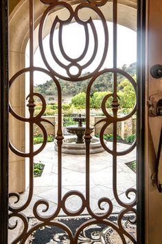 Tuscan Vineyard Estate - mediterranean - entry - san francisco - Stotler Design Group