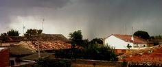 Cada día una foto de Palencia, realizada por ABBÉ NOZAL: Tormenta rural