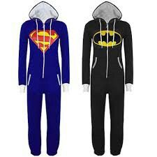 Men's Clothing Useful Mens Adult Superman One Piece Pajamas ~ Large To Be Distributed All Over The World