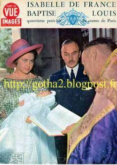la princesse Isabelle de France et le comte Karl Friedrich de Schönborn-Buccheim - Google zoeken babteme