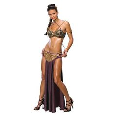 Star Wars Secret Wishes Princess Leia Slave Costume