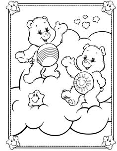 care bears coloring page care bears cousins pinterest page 8 and cb
