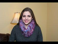 Cuello ancho de medios circulos tejido a crochet 02 - YouTube