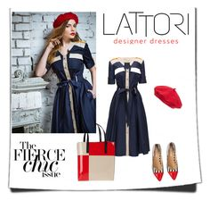 """Salut Paris!"" by fl4u ❤ liked on Polyvore featuring Parkhurst, Lattori, Marni and lattori"