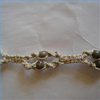 Square Knot-Half Knot Variation Hemp Pattern