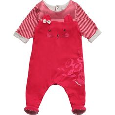 http://www.childrensalon.com/girls-cotton-babygrow-with-cat-face.html