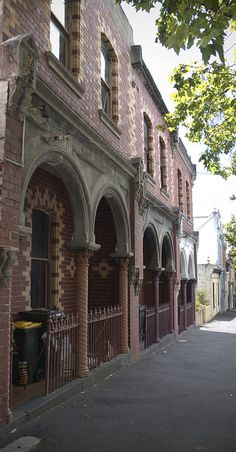Cottages, Fitzroy North, Melbourne, VIC, Australia by  Rachel Marks Pink Thistle on Flickr