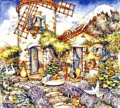 Windmill by Kim Jacobs