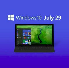 Here we go people, The Windows 10 official release date is July (FREE upgrade for Windows 7 and 8 users) visit our website today to book your appointment Upgrade To Windows 10, Computer Repair Services, Data Recovery, Microsoft, Website, News, Book, People, Free