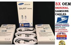 NEW OEM SAMSUNG GALAXY S5, NOTE 3 MICRO CHARGING DATA SYNC CABLE USB 3.0 3x #Samsung