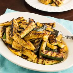 Recipe: Grilled Zucchini and Squash Sticks    made this with baked tilapia and couscous - yummy!