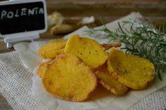 Sfoglie di polenta, ottime sia al forno che fritte, perfette durante una cena o un aperitivo.