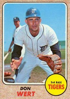 1968 Topps Don Wert #178 Baseball Card