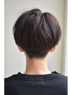Style Tomboy Asian New Ideas Tomboy Hairstyles, Hairstyles Haircuts, Cool Hairstyles, Korean Short Hair, Short Hair Cuts, Japanese Short Hair, Shot Hair Styles, Curly Hair Styles, Cut My Hair