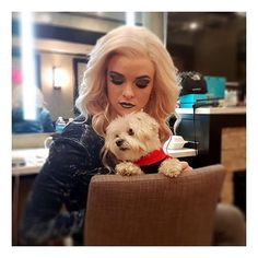 #tbt to Bella hanging with Killer Frost