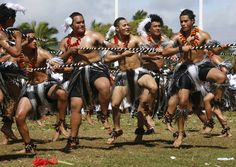 Tongan school children perform during Education Day for King George Tupou V in Nuku'aloka,Tonga Monday, July 28, 2008