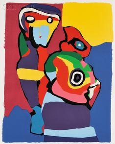 Onwijs 107 beste afbeeldingen van Cobra - Appels, Kunstenaar en Appel art VK-48