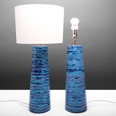 Rowena Gilbert Contemporary Ceramics Handmade Ceramic Lamp Base Ooleo... ($660) ❤ liked on Polyvore featuring home, lighting, table lamps, handcrafted lamps, contemporary modern lighting, contemporary lighting, contemporary lamps and set of two table lamps