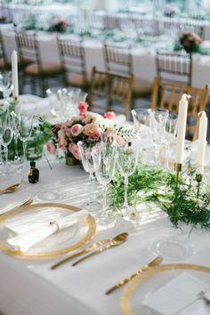 Mesas imperiales para la decoración de bodas