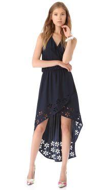 Parker Agnes Hi Lo Dress | SHOPBOP
