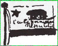 Earliest Drawing of the California Bear Flag | Bear Flag Museum