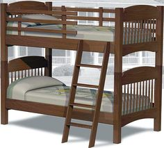Colonial style bunk bed..
