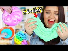 How to Make Giant Pearl Slime! DIY Shiny Shimmery Squishy Slime! - YouTube