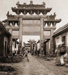 China in Olden Days (1900s)