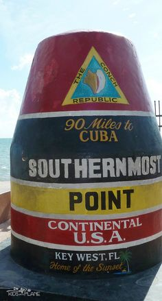 Cruise Port Review - Things to do in Key West Florida - Southernmost Point