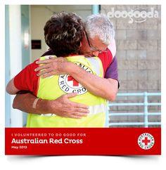 Red Cross volunteers are doogoodas volunteering for good. Please join them at join.doogooda.com