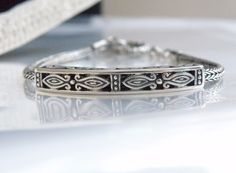 Novica Sterling Silver 925 Chainmaille Byzantine Stack Bali Indonesia Bracelet  #Novica #Chain
