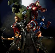 Marvels Avengers. This is the best poster I've seen so far!