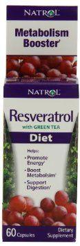 Amazon.com: Natrol Resveratrol Diet, 60 Fast Capsules: Health & Personal Care