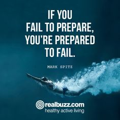 Preparation is everything if you want to achieve your goal! Share if you agree.